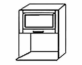 МВ 110 Шкаф под микроволновую печь