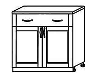 МН 15 Стол с ящиками