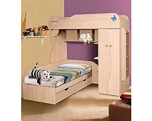 Кровать двухъярусная 02 КМК (80), 0252