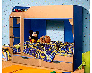 Кровать двухъярусная 03 КМК (80), 0253
