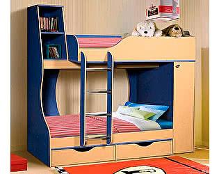Кровать двухъярусная 05 КМК (80), 0255