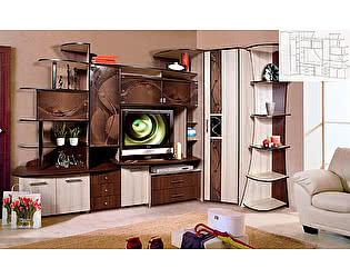 Шкаф комбинированный угловой КМК Орфей-5, 0153-01