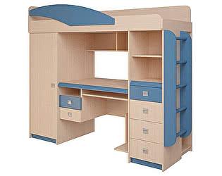 Набор мебели Корвет ЖК 4.1.1П (синий)