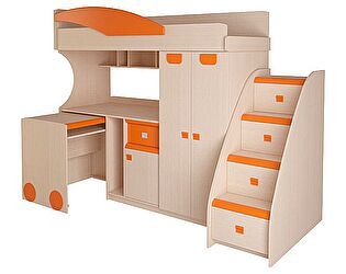 Набор мебели Корвет МДК 4.4.2П, тумба с 4я ящиками