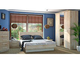 Набор мебели для спальни МК 44 ель Корвет, комплектация 3