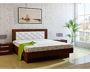 Кровать 28.1М с подъемным механизмом (160) МК 44 дуб Корвет