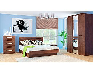 Набор мебели для спальни МК 44 дуб Корвет, комплектация 1