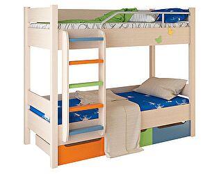 Кровать двухъярусная 3 Корвет