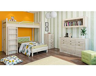Набор мебели для детской Корвет МДК 4.12, комплектация 1