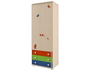 Шкаф для платья и белья Корвет МДК 4.13, изд.111