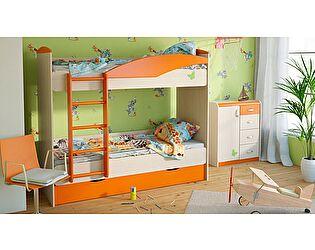 Набор мебели для детской Корвет ЖК 4.5М, комплектация 2