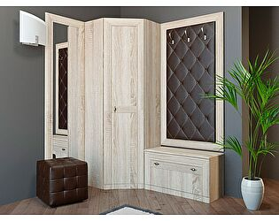 Комплект мебели для прихожей Корвет 24 (ель), композиция 6