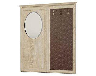 Купить вешалку Корвет навесная с зеркалом овальным 25, арт. 221