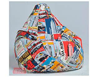 Кресло Dreambag Груша XXL, жаккард