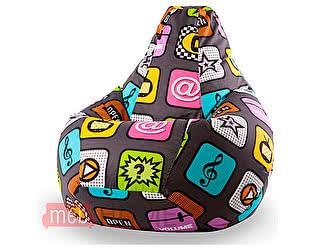Купить кресло Dreambag Груша XL, жаккард детский