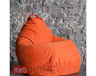 Кресло Dreambag Груша XL, жаккард велла оранжевая