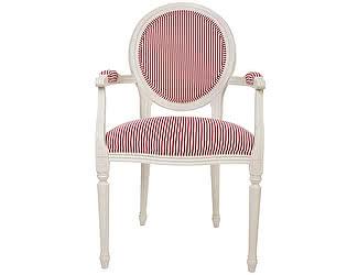 Кресло Home Provance с мягкой обивкой в полоску