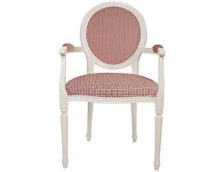 Кресло Home Provance с обивкой в клетку
