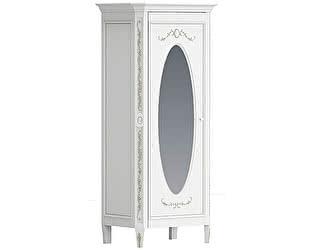 Шкаф Довиль однодверный с овальным зеркалом