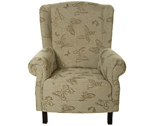 Кресло Бабочки цвета льна