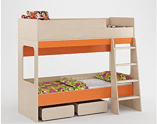 Кровать двухъярусная Легенда 38