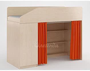 Комплект занавесок Легенда 11 (оранжевый)