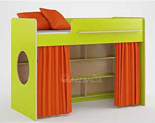 Комплект занавесок и 2 наволочек Легенда 26 (оранжевый)