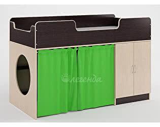 Комплект занавесок Легенда 2 (светло-зеленый)