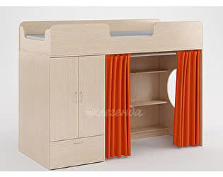 Комплект занавесок Легенда 3 (оранжевый)