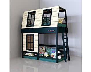 Кровать-домик Мамка Дом мечтателя с игровым пространством