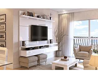 ТВ стеллаж MANHATTAN COMFORT Home City 2.2 maple cream/off-white Клен/кремовый