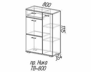 Купить тумбу Эра Ника (ТВ500) высокая