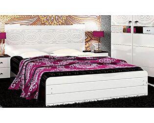 Кровать VitaMebel Vivo-8 (белый глянец) 140х200
