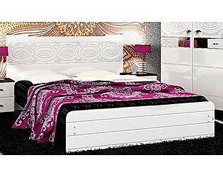 Кровать VitaMebel Vivo-8 (белый глянец) 160х200