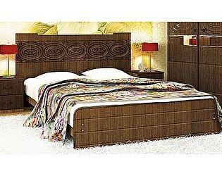 Кровать VitaMebel Vivo-8 (матовый мокко) 160х200