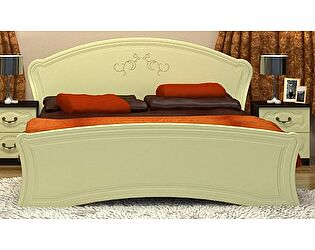 Кровать VitaMebel Vivo-6 140х200 с основанием