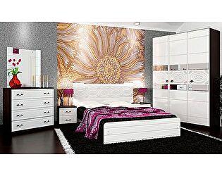 Купить спальню VitaMebel Vivo-8 (белый глянец)