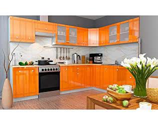 Модульная кухня Горизонт Сити глянец, композиция 1