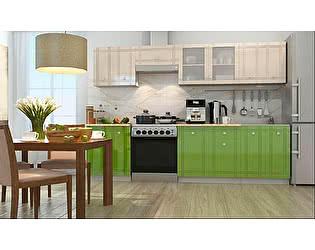 Модульная кухня Горизонт Сити глянец, композиция 3