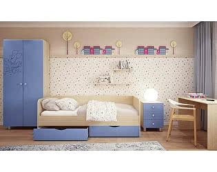 Модульная детская Московский Дом Мебели Британика с фрезеровкой (композиция 1)