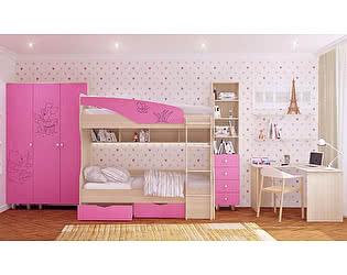 Модульная детская Московский Дом Мебели Британика с ферезеровкой (композиция 2)