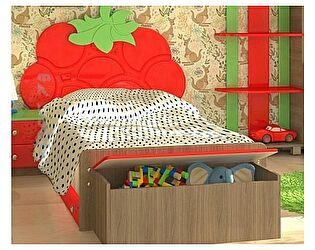 Детская кровать с ящиком VitaMebel Vitamin М (90х190)