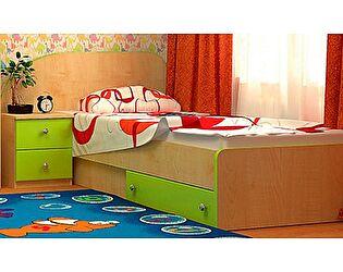Детская кровать VitaMebel Vitamin R (90х190) с тумбой прикроватной