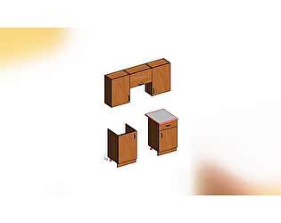 Комплект Стиль №2 каркас + фасад (1,6 м) МДФ