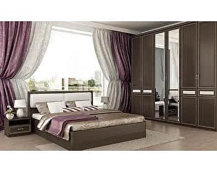 Модульная спальня Santan Калипсо, венге / патина