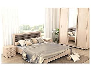 Модульная спальня Santan Мокко, дуб млечный