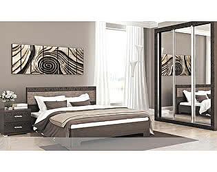 Модульная спальня Santan Весна, венге