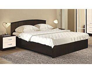 Кровать Диал Кэт-1 профиль ЛДСП  с низким щитком, 160