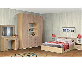 Спальный гарнитур Аджио Карина 10 композиция 1