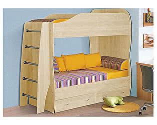 Кровать Аджио 80 двухъярусная